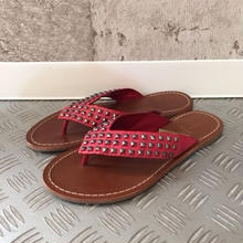 【レディース】COLE HAAN STUDS sandal ピンク 23㎝
