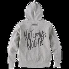 No Tapping No Life パーカー (Gray)