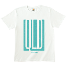 QLD × LUCK'A Tシャツ(White)