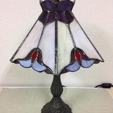 ステンドグラス  ランプ   A1002
