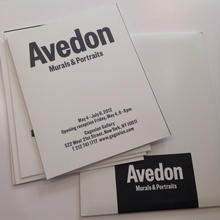 Murals & Portraits Cards By Richard Avedon