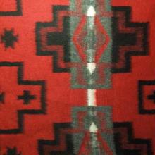 Native系 Fleece Camp Blanket