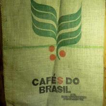 新品 ジュート製 コーヒー豆の麻袋