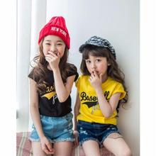 【Kids】print T-shirt