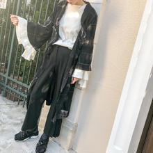used style long cardigan