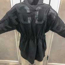 back logo trainer (black)