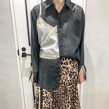 layered style shirt (black)