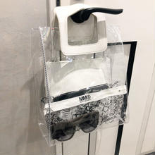 clear tote bag (white)