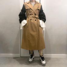 balloon sleeve trench coat
