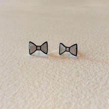 ribbon pierce プラチナ箔(pair)