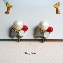 受注制作drop-bijou ピアス/イヤリング〈juneberry〉
