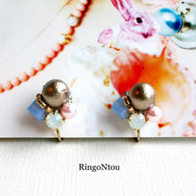 drop-bijou イヤリング〈airy blue〉