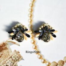 受注制作Butterfly Bijou <Vanilla> イヤリング/ピアス