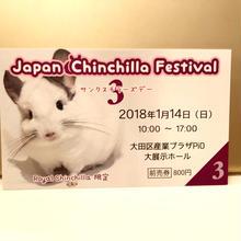 【チラフェス】前売券2018(代引決済用)
