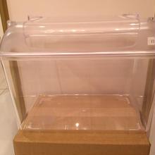 砂浴び用透明プラケース(透明ふた)