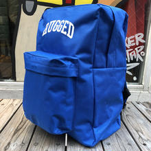 "RUGGED ""ARCH LOGO"" backpack(Blue)"