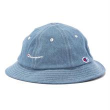 """【ラス1】Champion """"LOGO"""" metro hat (Denim)"""