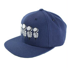"【ラス1】RUGGED × 晋平太 ""CHECK YOUR MIC"" snapback (Navy)"