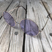 "RUGGED ""Big Round"" sunglasses (Purple)"