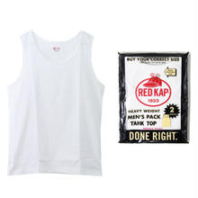 【ラス1】RED KAP pack tank top (White/2枚入)