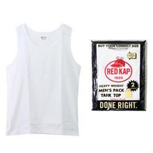 【残り僅か】RED KAP pack tank top (White/2枚入)