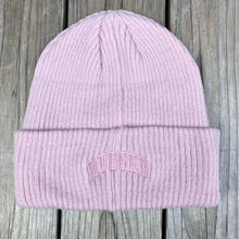 "【ラス1】RUGGED on Champion ""ARCH LOGO"" beanie(Pink)"