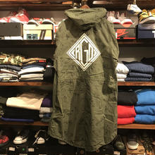 "RUGGED on vintage ""DIA LOGO""mods coat(M)⑥"