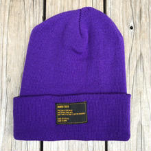 【ラス1】RUGGED beanie(Purple×Black)
