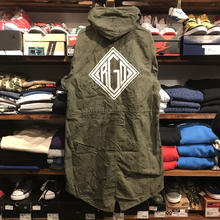 "RUGGED on vintage ""DIA LOGO""mods coat(M)⑦"