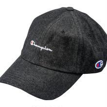 【残り僅か】Champion Denim adjuster cap(Black)