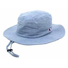 """【残り僅か】Champion """"LOGO"""" adventure hat (Denim)"""