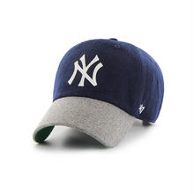 【ラス1】'47 CLEAN UP Yankees Droper Two Tone adjuster cap (Navy × Gray)