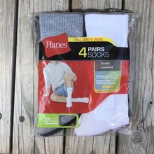 Hanes 4pair socks