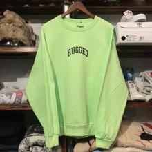 """【ラス1】RUGGED """"SMALL ARCH"""" sweat(Light Green)"""