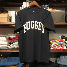 "【残り僅か】RUGGED on Hanes ""ARCH LOGO"" BEEFY tee (Navy/Off white)"
