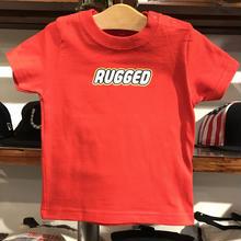 """【ラス1】RUGGED """"REGO"""" Baby tee (70-90/Red)"""
