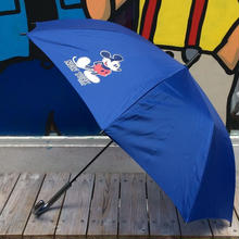 "【ラス1】SECOND LAB ""MICKEY NY""Umbrella(Blue)"