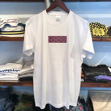 "【RUGGED別注】AnotA ""GOX"" tee (White×Purple)"