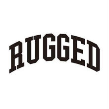 "RUGGED ""ARCH LOGO"" sticker"