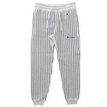 【ラス1】Champion ''REVERSE WEAVE'' stripe sweat pants   (Silver Gray)