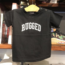 "【残り僅か】RUGGED ""ARCH LOGO"" kids tee (Black)"