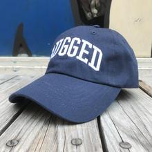 "RUGGED ""ARCH LOGO"" adjuster cap  (Navy)"