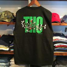 """【残り僅か】RUGGED GREEN LABEL  """"THC""""  high-grade cotton tee (Black)"""