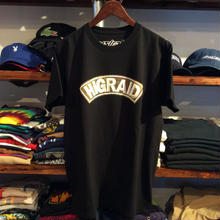 "【残り僅か】visualreports ""REAL HIGRAID""  tee (Black)"
