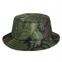 【残り僅か】HUF QUILTED NYLON BUCKET (Olive)