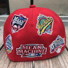 【ラス1】VOTE MAKE NEW CLOTHES team logo wappen cap (Red)