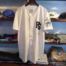 【残り僅か】RUGGED ''TOKYO JOINTS'' baseball shirt (White)