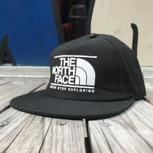 "【ラス1】THE NORTH FACE ""NEVER STOP EXPLORING"" snapback(Black)"