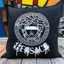 """【ラス1】FESC """"MEDUSA"""" cushion (Black)"""