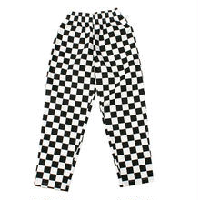 "COOKMAN ""Checker"" Chef pants (Black)"